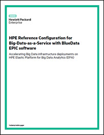 BlueData, HPE Combined Solution Works to Tackle Big Data as a Service Challenges